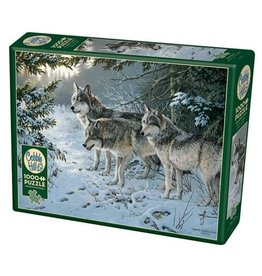 Cobble Hill Wolf Trail - 1000 Piece Puzzle
