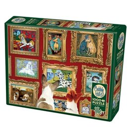 Cobble Hill Dog Gallery - 1000 Piece Puzzle