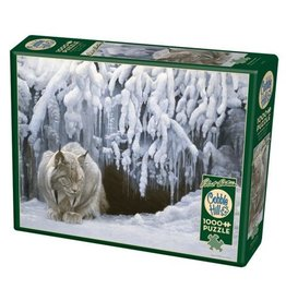Cobble Hill Dozing Lynx - 1000 Piece Puzzle