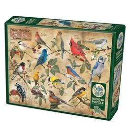 Cobble Hill Popular Backyard Wild Birds of North America - 1000 Piece Puzzle