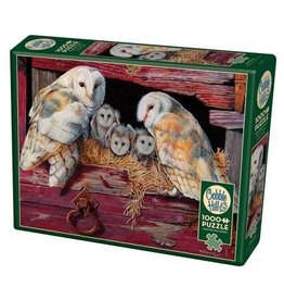 Cobble Hill Barn Owls - 1000 Piece Puzzle