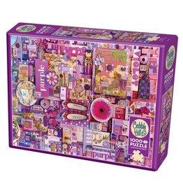 Cobble Hill Purple - 1000 Piece Puzzle