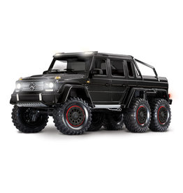 Traxxas 1/10 Mercedes-Benz G 63 AMG 6x6 RTR Scale and Trail Crawler - Black