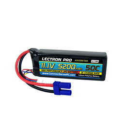 Common Sense RC 3S5200-505 - 11.1V 5200mAh 50C Lipo Battery with EC5 Connector