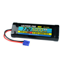 Common Sense RC N6-5000E - NiMH 7.2V (6-cell) 5000mAh Flat Pack with EC3 Connector