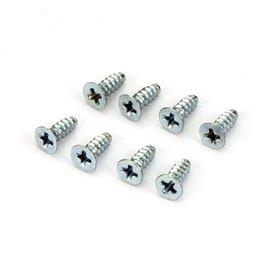 Dubro 2296 -  Flat Head Self-Tap Screws, 3 x 8mm