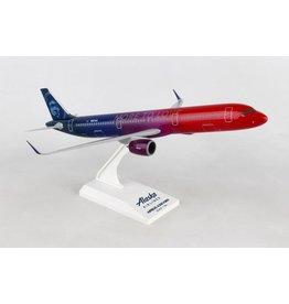 "Daron 1/150 Alaska A321NEO ""More To Love"" - SkyMarks"