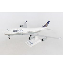 Daron 1/200 United B747-400 with Gear - SkyMarks