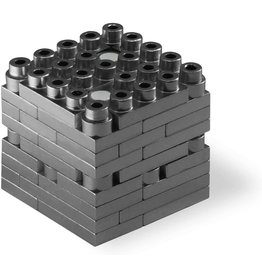 Metomics Mind3 - Charcoal - Metal Building Block Set