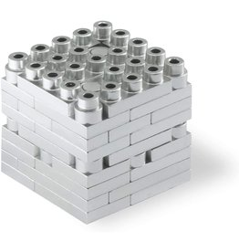 Metomics Mind3 - Silver - Metal Building Block Set