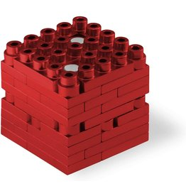 Metomics Mind3 - Red - Metal Building Block Set