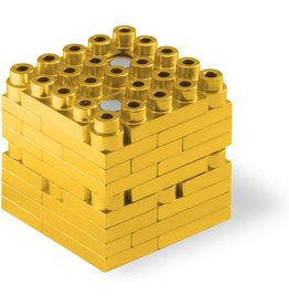 Metomics Mind3 - Gold - Metal Building Block Set