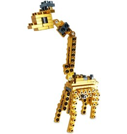 Metomics Wild Animals Series 001 - Giraffe - Pocket Metal Building Block Set