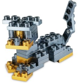 Metomics Pet Series 001 - Rottweiler - Pocket Metal Building Block Set