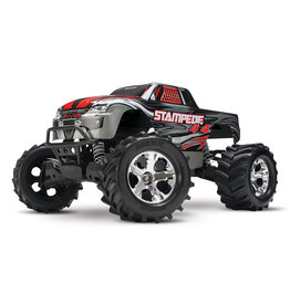 Traxxas 1/10 Stampede 4X4 RTR Brushed 4WD Monster Truck - Silver