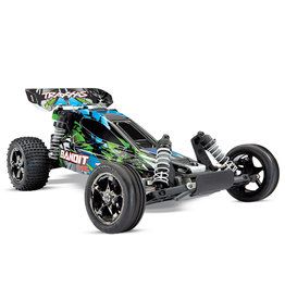 Traxxas 1/10 Bandit VXL RTR Brushless Buggy with TSM - Green
