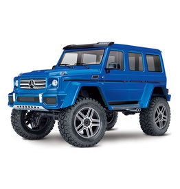 Traxxas 1/10 TRX-4 Mercedes-Benz G500 4X4² RTR Scale and Trail Crawler - Blue