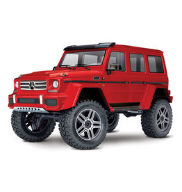 Traxxas 1/10 TRX-4 Mercedes-Benz G500 4X4² RTR Scale and Trail Crawler - Red