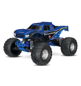 Traxxas 1/10 Bigfoot Modern 2WD RTR Monster Truck - Firestone Blue