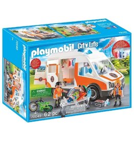 Playmobil 70049 - Ambulance with Flashing Lights