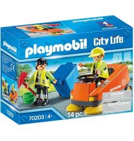 Playmobil 70203 - Street Sweeper