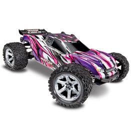 Traxxas 1/10 Rustler 4X4 VXL Brushless RTR 4WD Stadium Truck - Pink