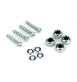 "Dubro 174 - Bolt & Lock Nut Set 2-56 x 1/2""  (4)"