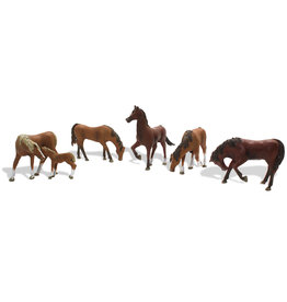 Woodland Scenics A1842 - Chestnut Horses