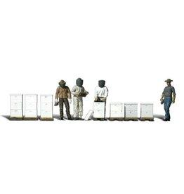 Neu Woodland Ho Maßstab Ice Skaters Zug Figuren A1899