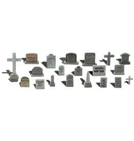 Woodland Scenics A1856 - Tombstones