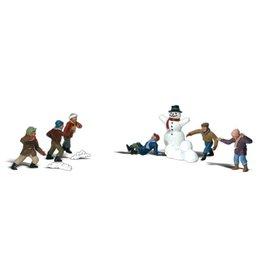 Woodland Scenics A1894 - Snowball Fight