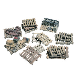 Woodland Scenics D204 - Assorted Skids (15)