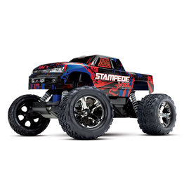 Traxxas 1/10 Stampede VXL Brushless RTR 2WD Monster Truck - Red