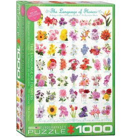 Eurographics The Language of Flowers - 1000 Piece Puzzle