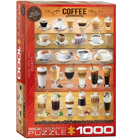 Eurographics Coffee - 1000 Piece Puzzle