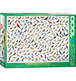 Eurographics The World of Birds - 1000 Piece Puzzle