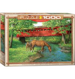 Eurographics Sweet Water Bridge - 1000 Piece Puzzle