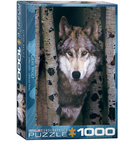 Eurographics Gray Wolf - 1000 Piece Puzzle