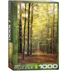 Eurographics Forest Path - 1000 Piece Puzzle