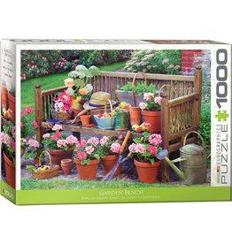 Eurographics Garden Bench - 1000 Piece Puzzle