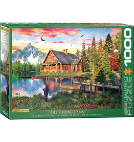 Eurographics The Fishing Cabin - 1000 Piece Puzzle