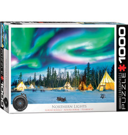 Eurographics Northern Lights - Yellowknife - 1000 Piece Puzzle
