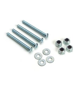 Dubro 176 -  Bolt & Lock Nut Set, 4-40 x 1-1/4 (4)