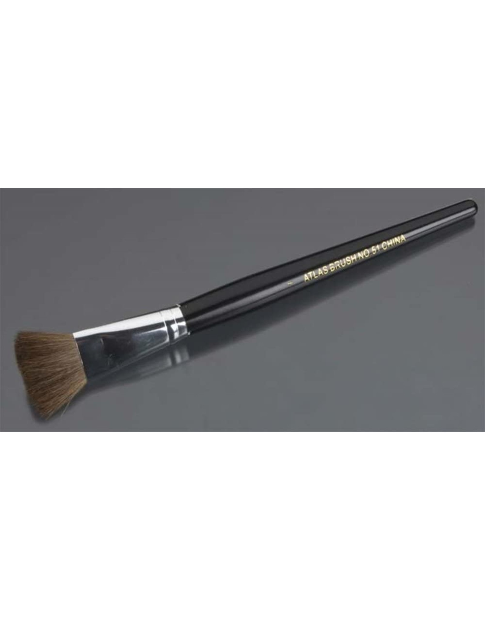 """Atlas Brush Co. 51-I-1 - Camel Hair Flat Brush 1"""""""