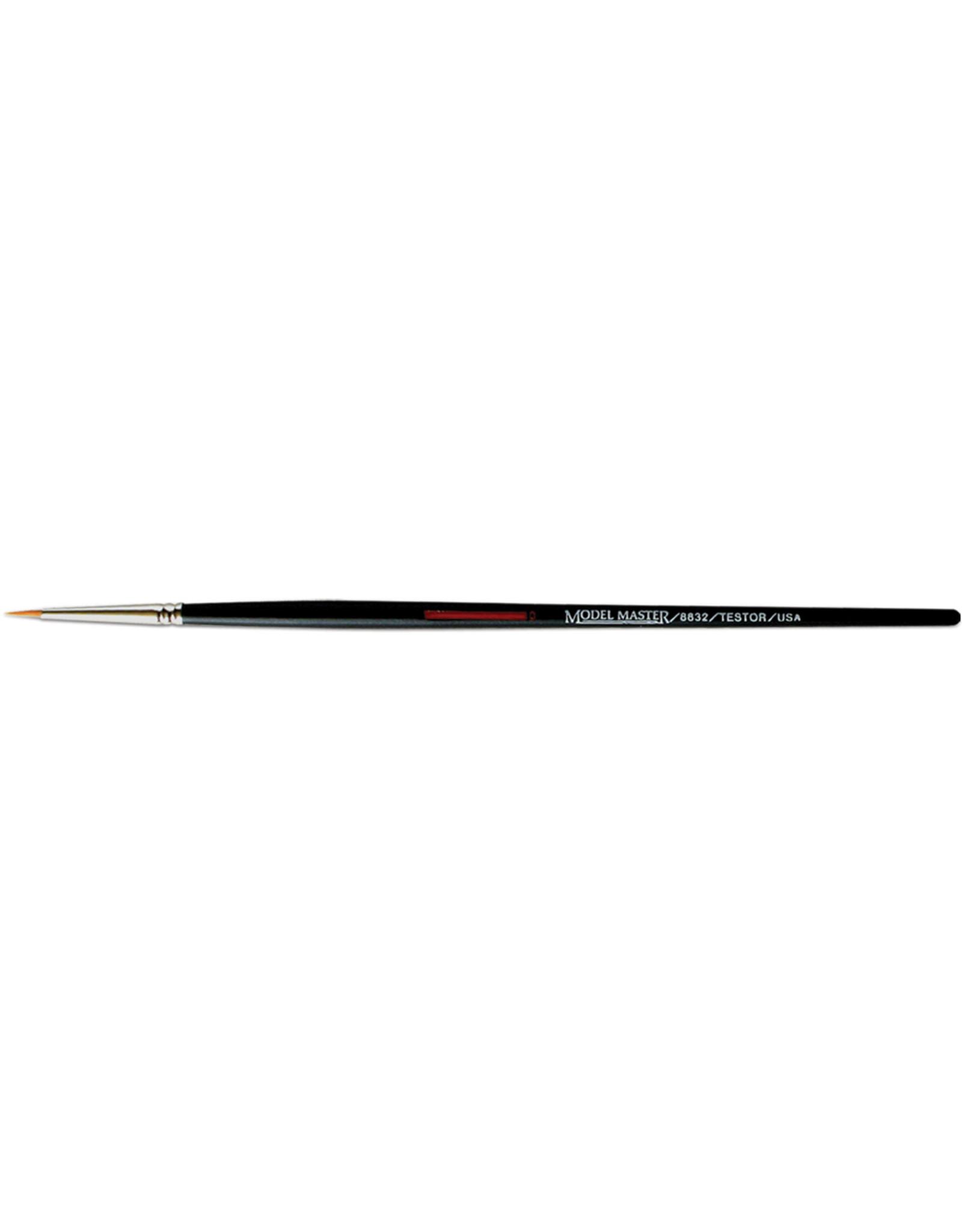 Testors 8832C - Golden Synthetic Round Brush #0
