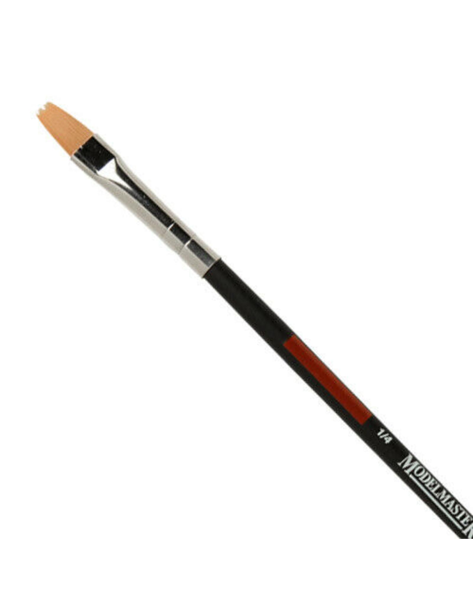 "Testors 8833C - 1/4"" Golden Synthetic Chisel Brush"
