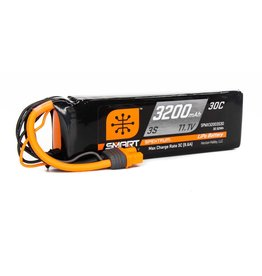 Spektrum SPMX32003S30 -  11.1V 3200mAh 3S 30C Smart LiPo Battery: IC3