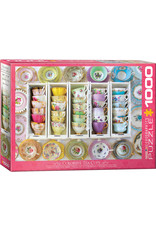 Eurographics Colorful Tea Cups - 1000 Piece Puzzle