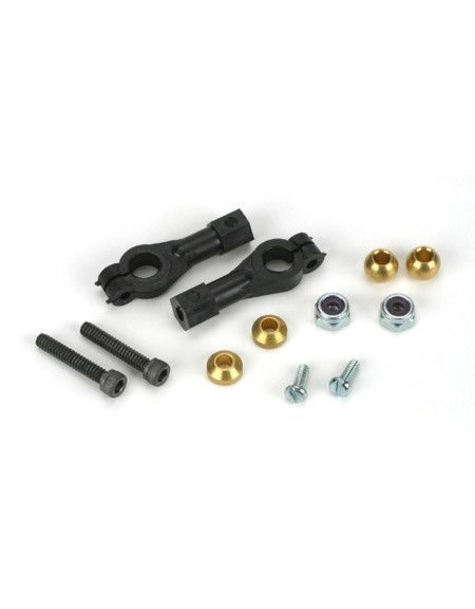 Dubro 2137 - Adjustable Ball Link Hardware, 4-40 - Long
