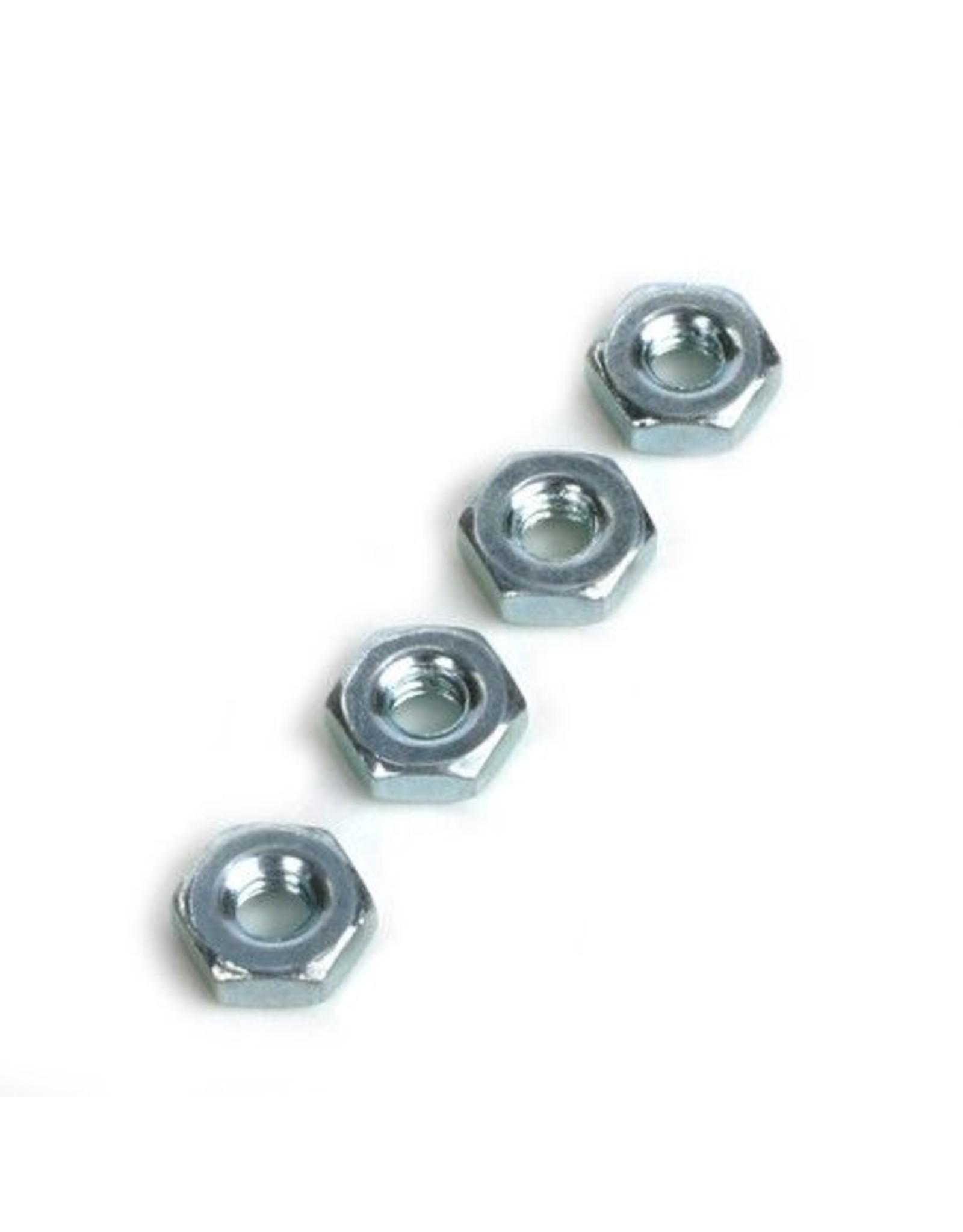 Dubro 563 - Steel Hex Nuts 8-32 (4)